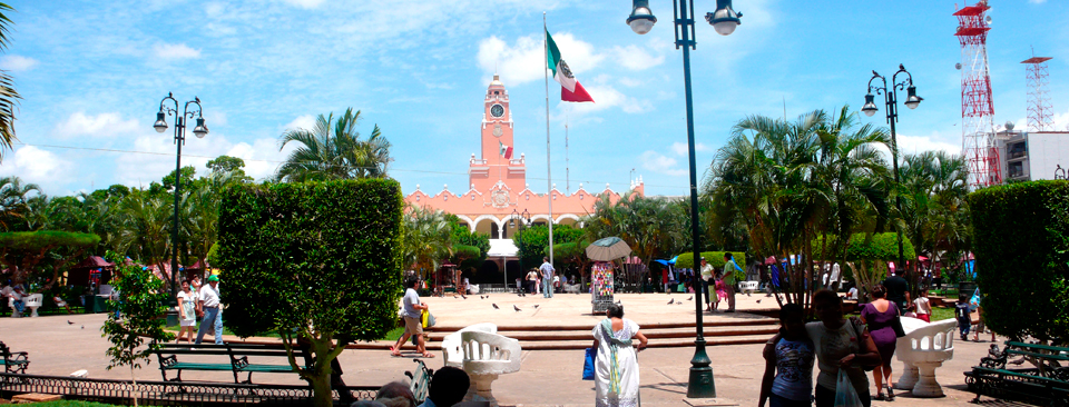 Be in the heart of it all. The area's defining landmark is Merida's main Cathedral, Catedral San Idelfonso. Built atop Maya ruins, it is one of Latin America's largest and oldest cathedrals.